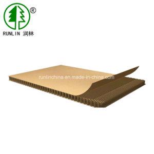 De cartón corrugado Papel Kraft Placa Alveolar de soporte de pantalla