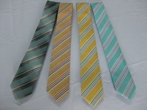 Dotty Micro Fibra Design de moda gravatas
