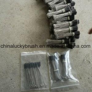 Fio de nylon Escova do tubo de aço inoxidável com Anel O (AA-753)