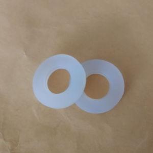 Rondelle piane di gomma trasparenti su ordinazione del colpetto per l'impianto idraulico