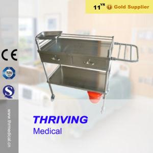 Het Karretje van het Instrument van het Ziekenhuis van het roestvrij staal (thr-MT014)