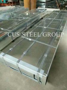 Lamiera di acciaio ondulata galvanizzata spessore del calibro/strato tetto dello zinco