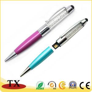 3 em 1 de promoção de negócios USB Flash Drive USB USB canetas de tela de toque de caneta esferográfica pendrive USB DISK USB caneta USB