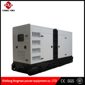 Bajo ruido, tranquila, caso de 220KW/275kVA grupo electrógeno diesel