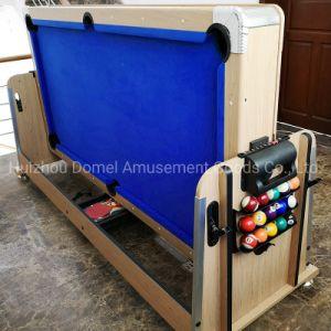 Многофункциональный бильярдный стол воздушный хоккей настольный теннис 4В1 (ПБУ 7D11)