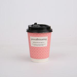 Personnalisé Papier imprimé à paroi simple tasse de café tasse à l'emballage en papier jetables en papier Cup
