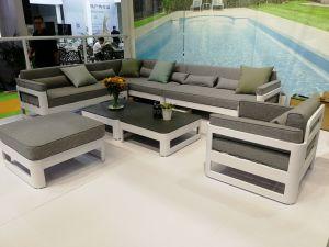 2020 moderno sofá fábrica de muebles de exterior de aluminio Precio al por mayor