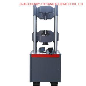 Wew-300/600/1000 кн лаборатории специальный дисплей компьютера гидравлический предел прочности испытания машины