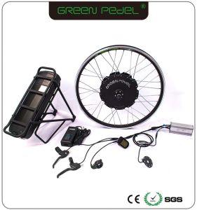 Kit Gearless verde di conversione della E-Bici del motore del mozzo motorizzato 750W di Pedel 36V 48V 500W