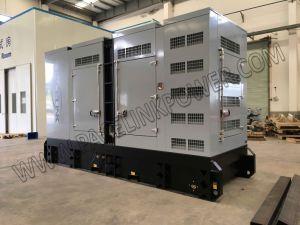 gruppo elettrogeno diesel silenzioso alimentato Cummis 275kVA con l'iso del Ce