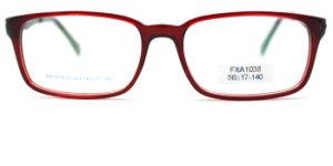 De online Glazen van de Frames van het Metaal van de Acetaat van Goederen Optische met het Glas van het Oog van de Bril van Eyewear van de Oogglazen van de Decoratie van het Metaal (FXA1038)