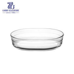 1.5L楕円形のPyrexガラスの皿(GB13G22235A)
