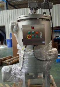 Filtri a pulizia automatica automatici dalla ruspa spianatrice per i liquidi chimici viscosi