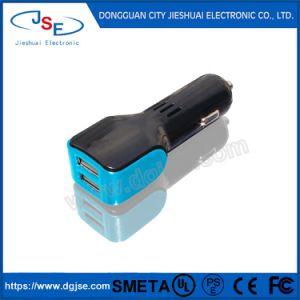 2 порта USB, быстрая зарядка USB автомобильное зарядное устройство для мобильных телефонов