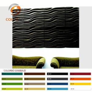 Het zwarte Product van de Vezel van de Polyester van de Absorptie van de Oppervlakte Vuurvaste en Correcte