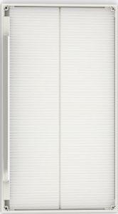 P4, pantalla LED de vidrio con una alta tasa transparente en el interior de la pantalla cortina LED flexible