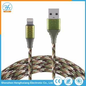 携帯電話5V/2A電気USBデータ料金電光ケーブルは編んだ