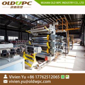Linea di produzione di marmo artificiale dello strato di profilo del PVC