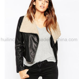 f8401e4614ee Moda Feminina Jaqueta de Couro da China, lista de produtos de Moda ...