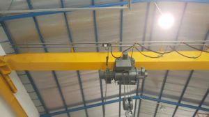Mhtool 2tモノレールの上昇のエレベーターのための電気ワイヤーロープ起重機