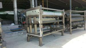 Correia de águas residuais Press-Installed Máquina na Tailândia Local de Trabalho
