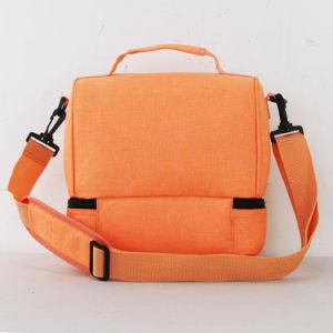Nuovo sacchetto del dispositivo di raffreddamento del pranzo dell'alimento isolato di disegno picnic morbido