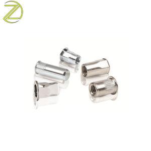 Custom Pricision laiton/cuivre/laiton de moule en acier inoxydable insérer les écrous moletés