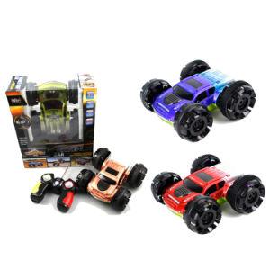 Os brinquedos para crianças 6 canais de lado duplo potente Stunt RC Car