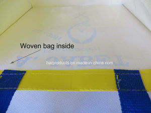 Bolso de nylon reutilizables personalizada Bolsa de compras con mango de poliéster