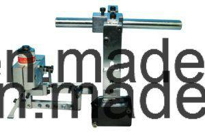 Cinta de satén la etiqueta de tela de la máquina de corte y plegado