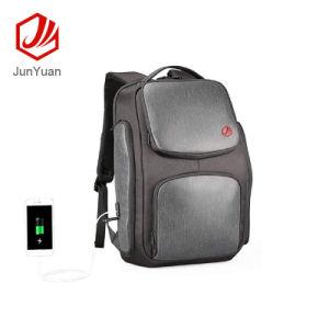 Energía Solar de carga USB Schoolbag mochilas mochila al hombro al aire libre Daypack Viajes