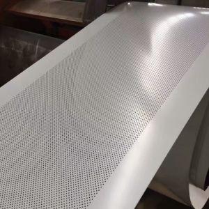 Отверстие для пробивания отверстий сетка перфорированной металлической сетки