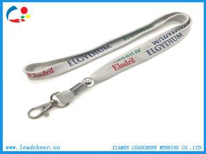 El Cordón de la cuerda baratos diferentes accesorios Custom Seda serigrafiada