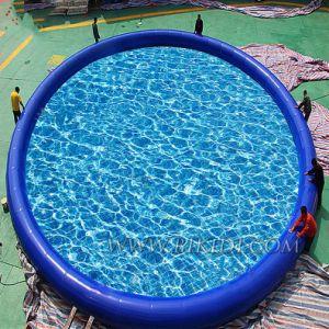 De grote Commerciële Opblaasbare Pool van het Water, Opblaasbaar Zwembad met de Bodem van de Rimpeling
