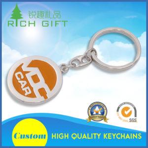 Pattino di rullo duro d'ottone dell'epossidico della polvere di scintillio dello smalto del metallo su ordinazione di alta qualità Keychains da vendere