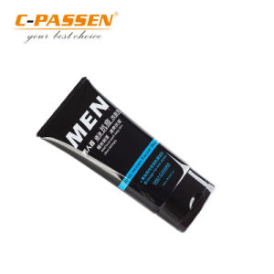 30ml黒いプラスチック装飾的な圧搾の基礎包装の管