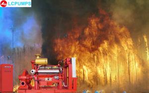La lucha contra incendios de la lista UL Bomba con motor Diesel