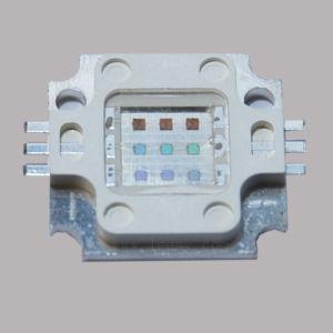 10W RGB LED de alta potencia