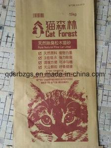 Nuovi sacchetto tessuto pp di plastica/sacco materiali della lettiera di imballaggio