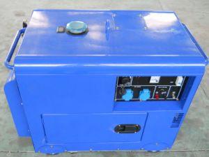 Conjunto de gerador a diesel com Rodas