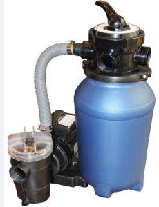 10 Inch Diameter Sand Filter mit 0.25HP Pump mit Pre-Filter
