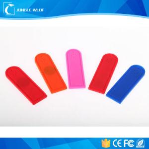 빨 수 있는 세탁물 의류 실리콘 UHF 장거리 수동적인 RFID 꼬리표