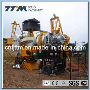 10TPH Mobile Mini Mezcladora de asfalto, planta mezcladora de asfalto