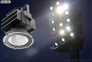 ポートの波止場タワーの正方形の競技場の屋外のフラッドライト300W 400W 500W LEDの高いマストライト