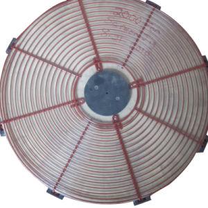 Revestido de PVC de alta qualidade a proteção da grade de metal redonda