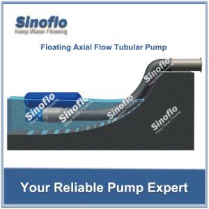 El drenaje inundado axial/mezcló la bomba sumergible de las aguas residuales/de la desecación del flujo