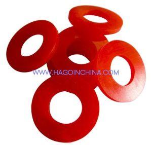 OEM personalizar colores Moldeado de caucho de silicona redondo plano arandela de la Junta para tubo, Grifo de agua y la conexión de la pulverizadora