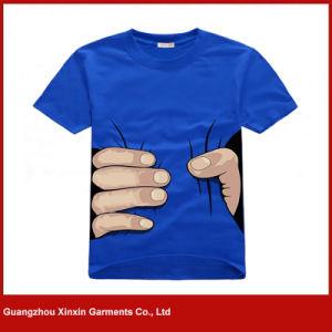 폴리에스테 티 셔츠 (R112)를 인쇄하는 주문품 승화