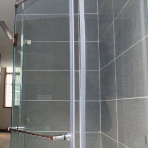 ストリップの卸売を盗むシャワー室のガラスドア