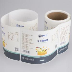 Custom impermeables y viscosidad fuerte impresión de etiquetas